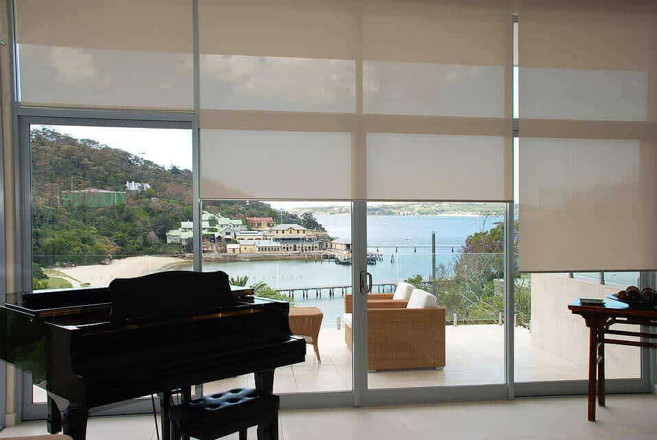 Which Custom Window Coverings Are Best For Sliding Glass Doors Aero Shade Co